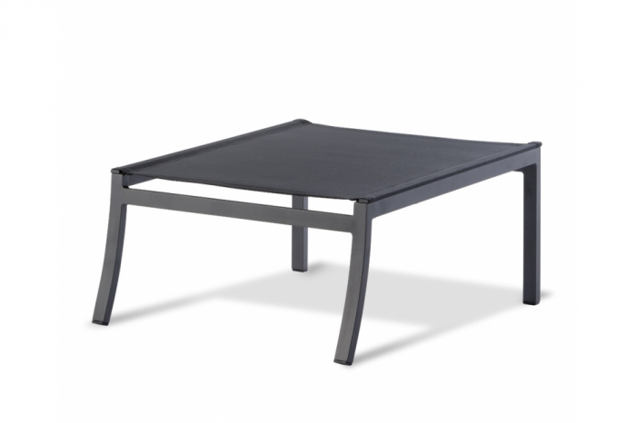 Lounge Hocker Gestell Aluminium anthrazit