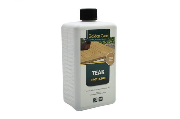 Golden Care Teak Protector - Honey brown 1 lt