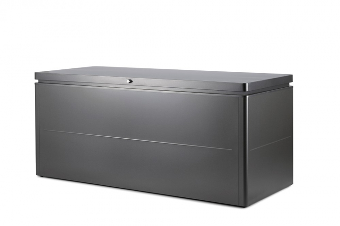 CLUB Loungebox dunkelgrau metallic Grösse: B200xT84xH88.5 cm
